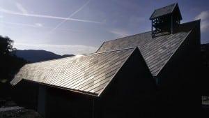 oltedal kirke skifertak