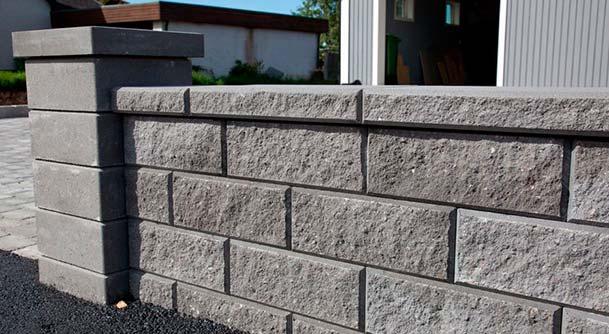 støttemur i betong
